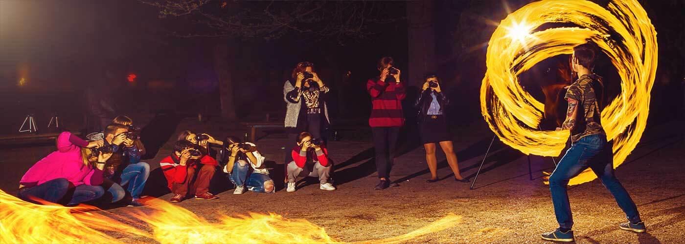 Крутые ночные фотографии - результат практических занятий!